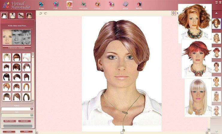 App To Change Hairstyle Hairstyle App Cool Hairstyles Try Different Hairstyles