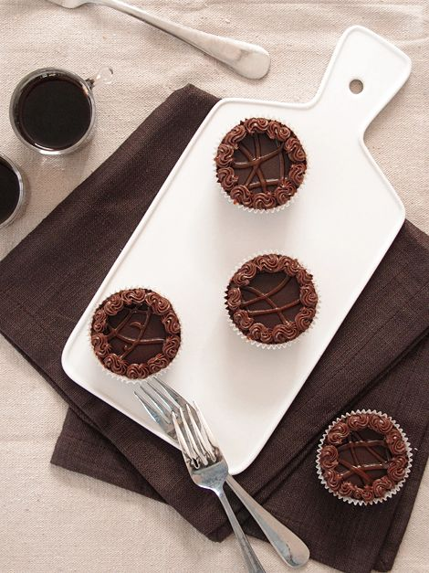 Mini Nutella Cheesecakes...nutella is just good in everything.