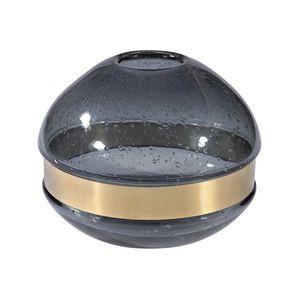 Dimond Home Banded Globe Vase
