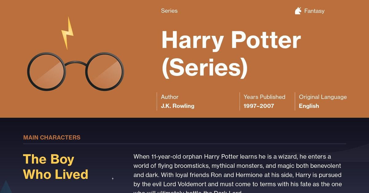 Harry Potter Series Harry Potter And The Sorcerers Stone Summary Course Hero Rowling Harry Potter Harry Potter Series Literature