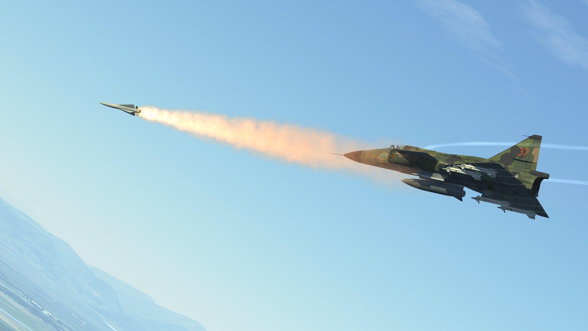 DCS: AJS-37 Viggen | arma 3 | Fighter jets, Guns, Aircraft