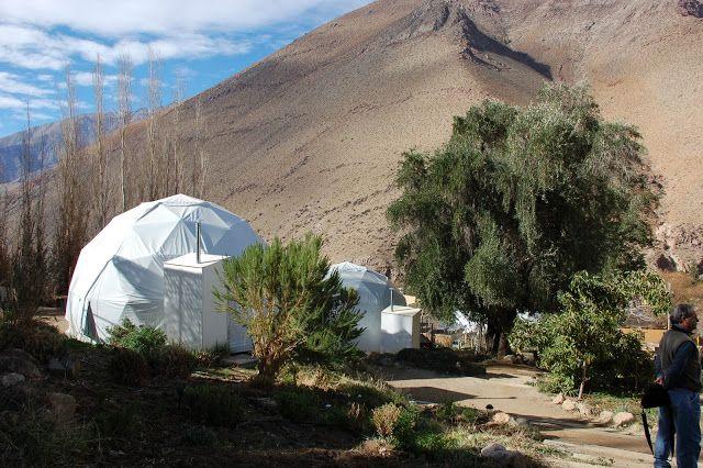 Domos del Elqui, IV Región, Chile  http://pralinecrispytips.blogspot.com.es/