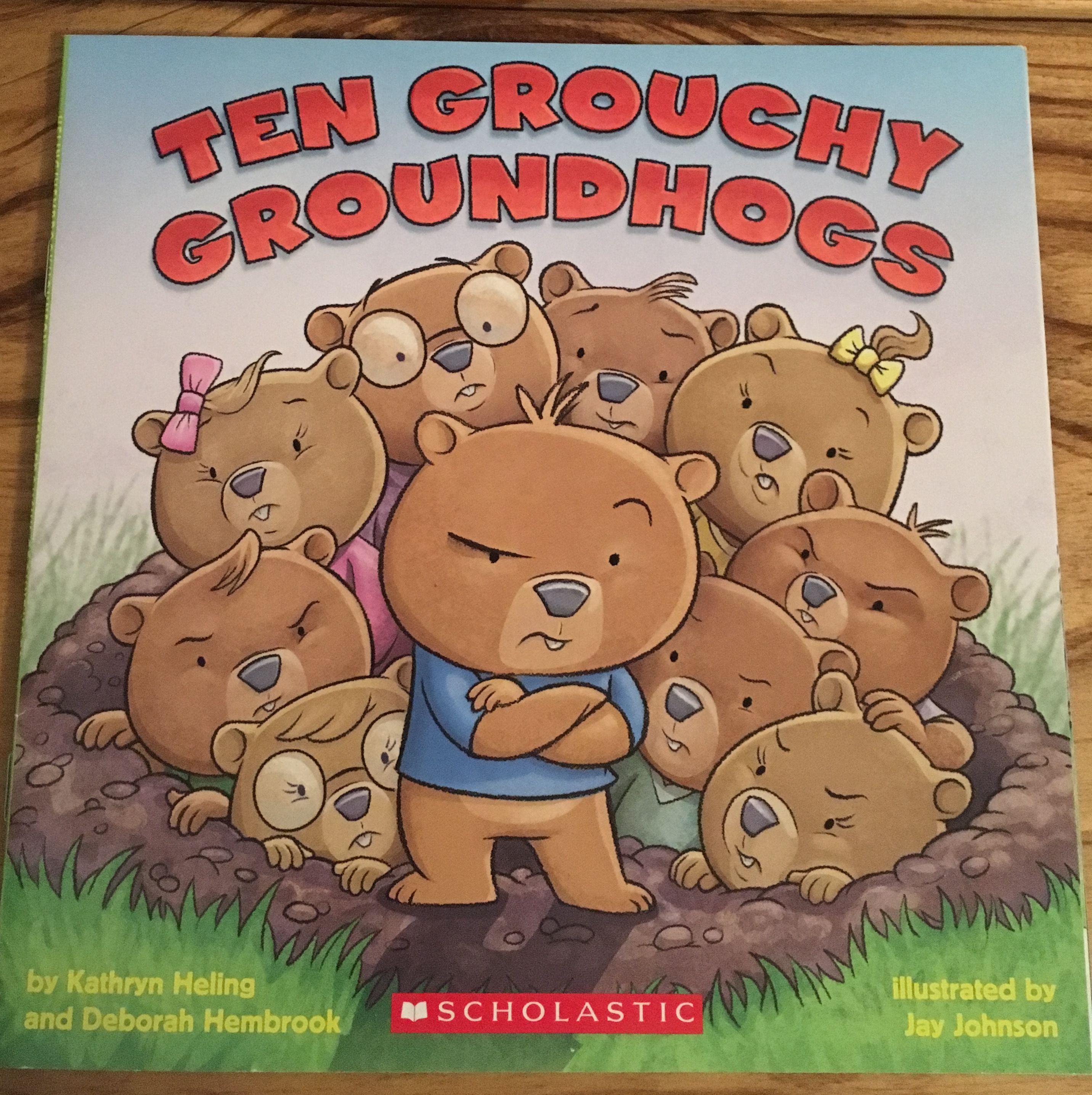 Ten Grouchy Groundhogs Activity Kit