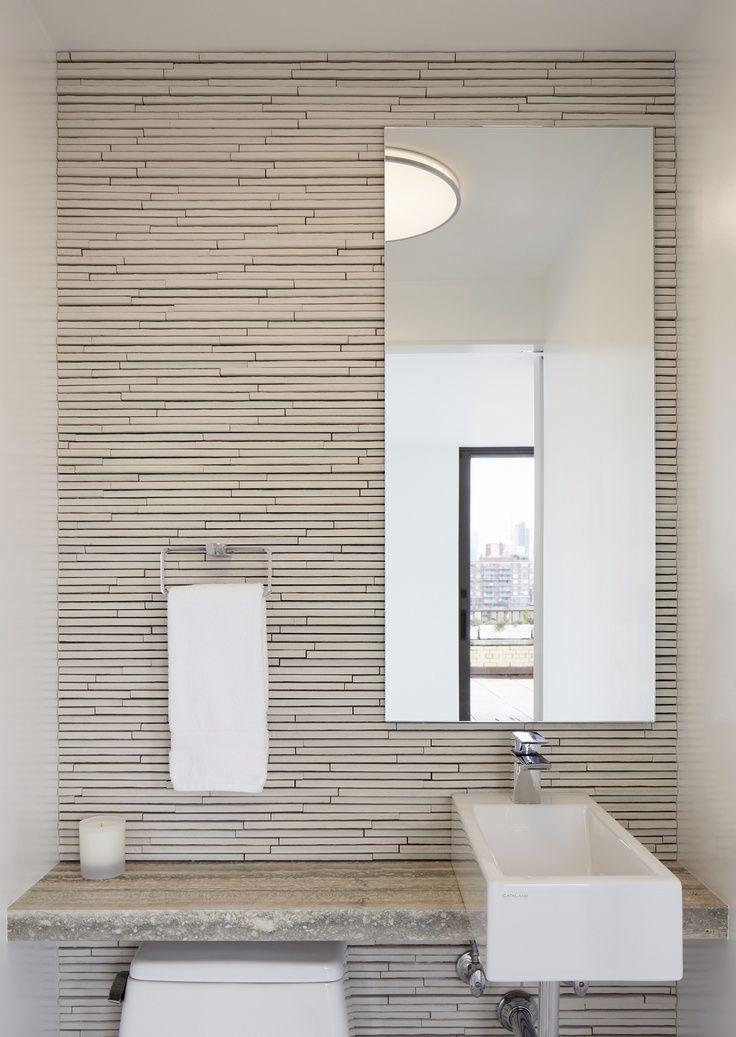 Fifth avenue duplex penthouse spg architects archinect for Banos de casas modernas