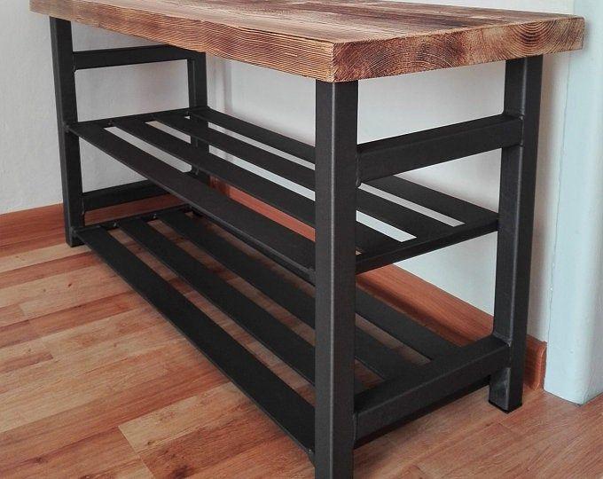 Estante Del Lazo In 2020 Shoe Bench Shoe Organiser Metal Furniture