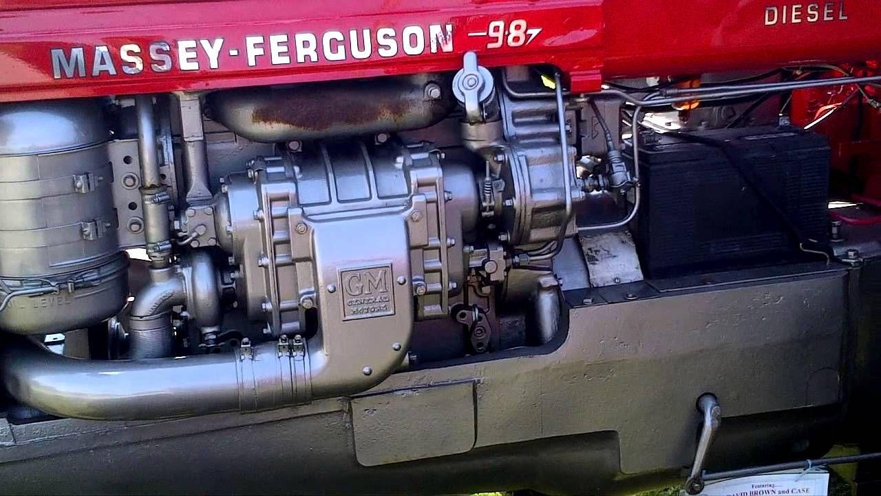 Detroit Diesel 2 Stroke >> Massey Ferguson 98 Detroit Diesel 2 Stroke Youtube Massey
