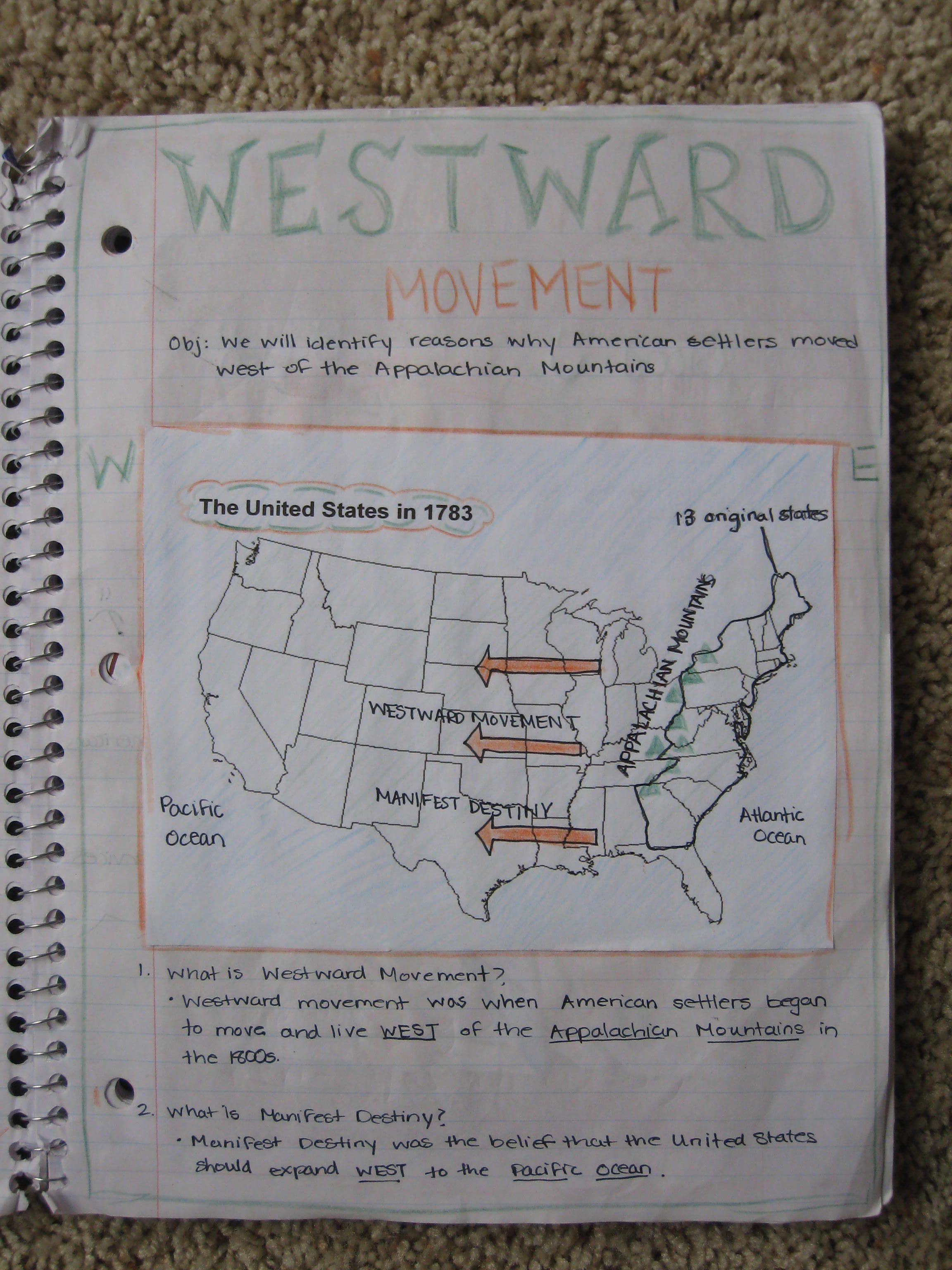 5th Grade Interactive Social Studies Notebook photos