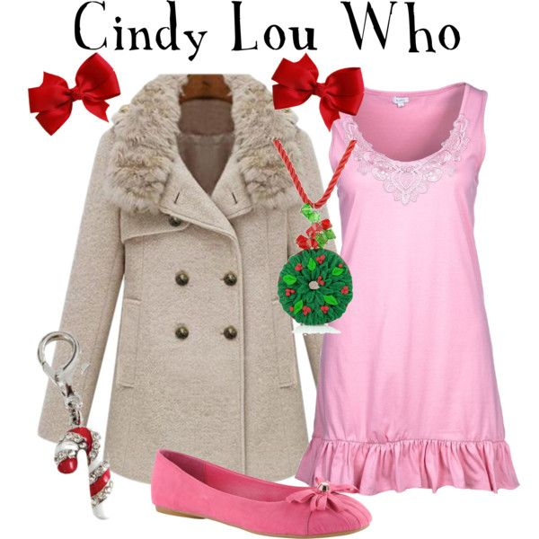 """Cindy Lou Who"" by marybethschultz on Polyvore"