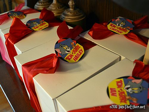 Tom and Jerry Birthday Party Theme Party on Pinterest