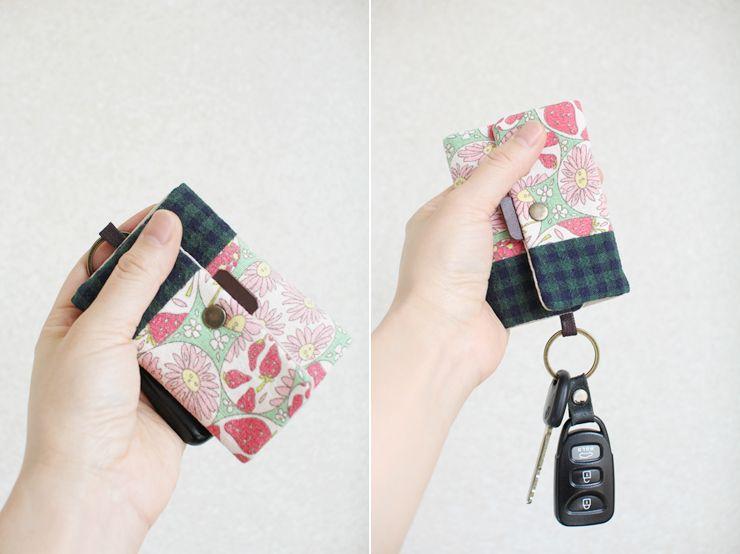Card Wallet Key Chain Diy Wallet Keychain Diy Keychain