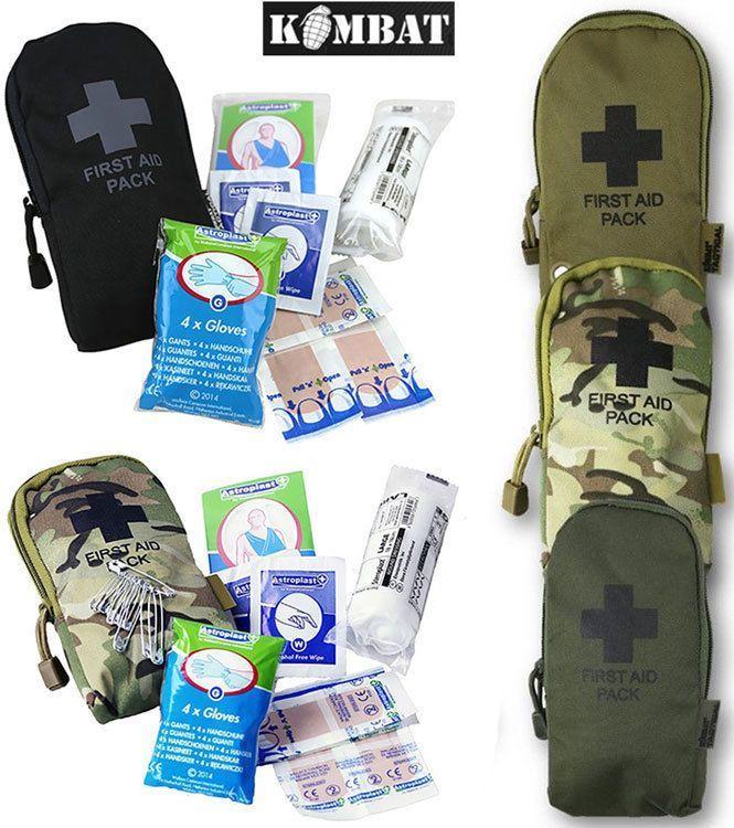 9 99 GBP - Combat Military First Aid Kit Survival Medical Belt Bag