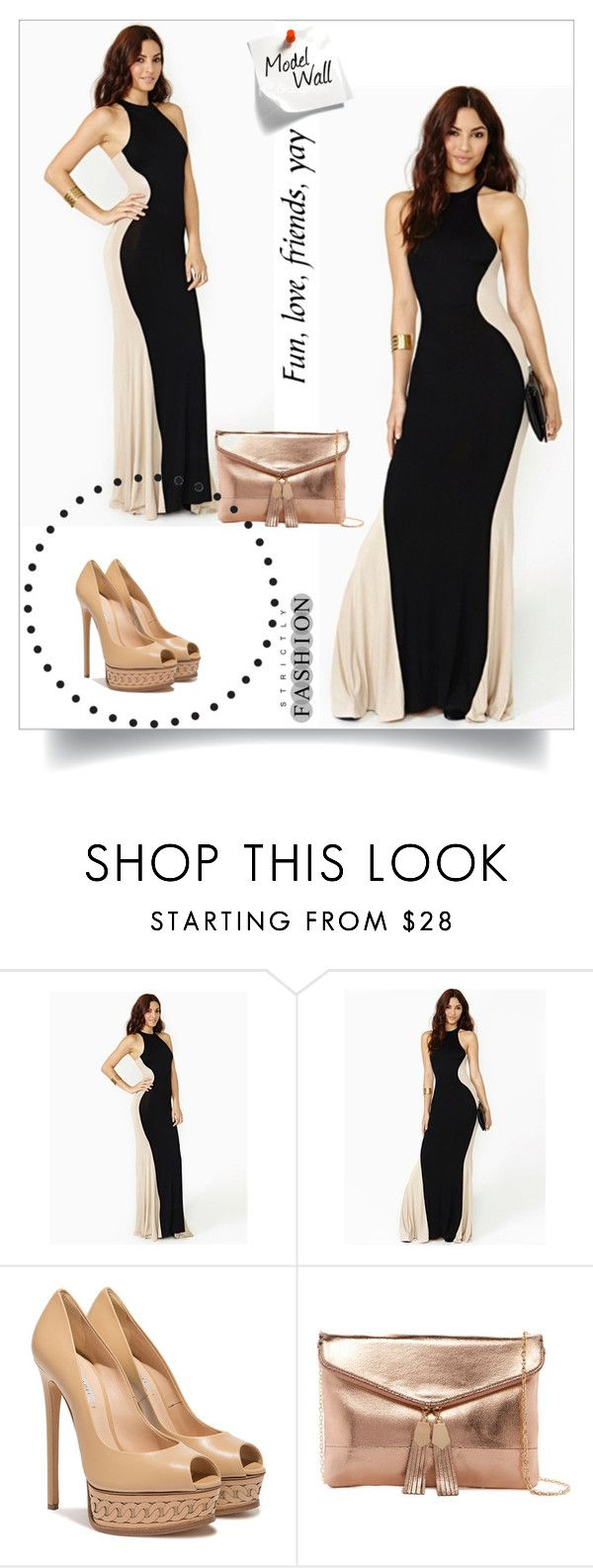 """""""Victoriaswing 24"""" by umay-cdxc ❤ liked on Polyvore featuring Casadei and Urban Expressions"""