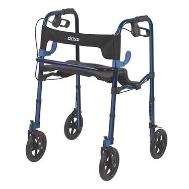 Clever Lite Rollator Walker With Casters 10243