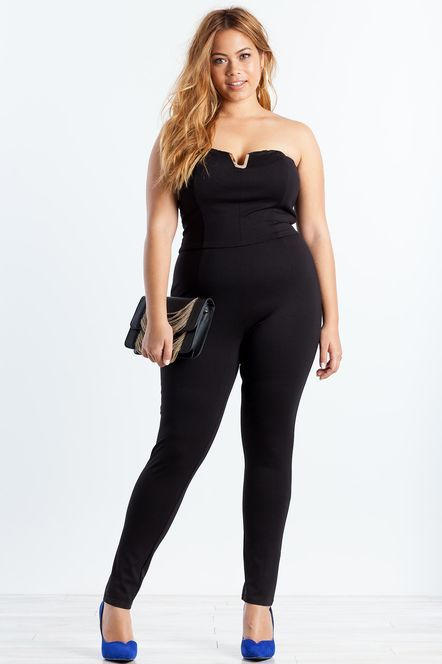 5c9f40db980 Jolene Metal Trim Jumpsuit