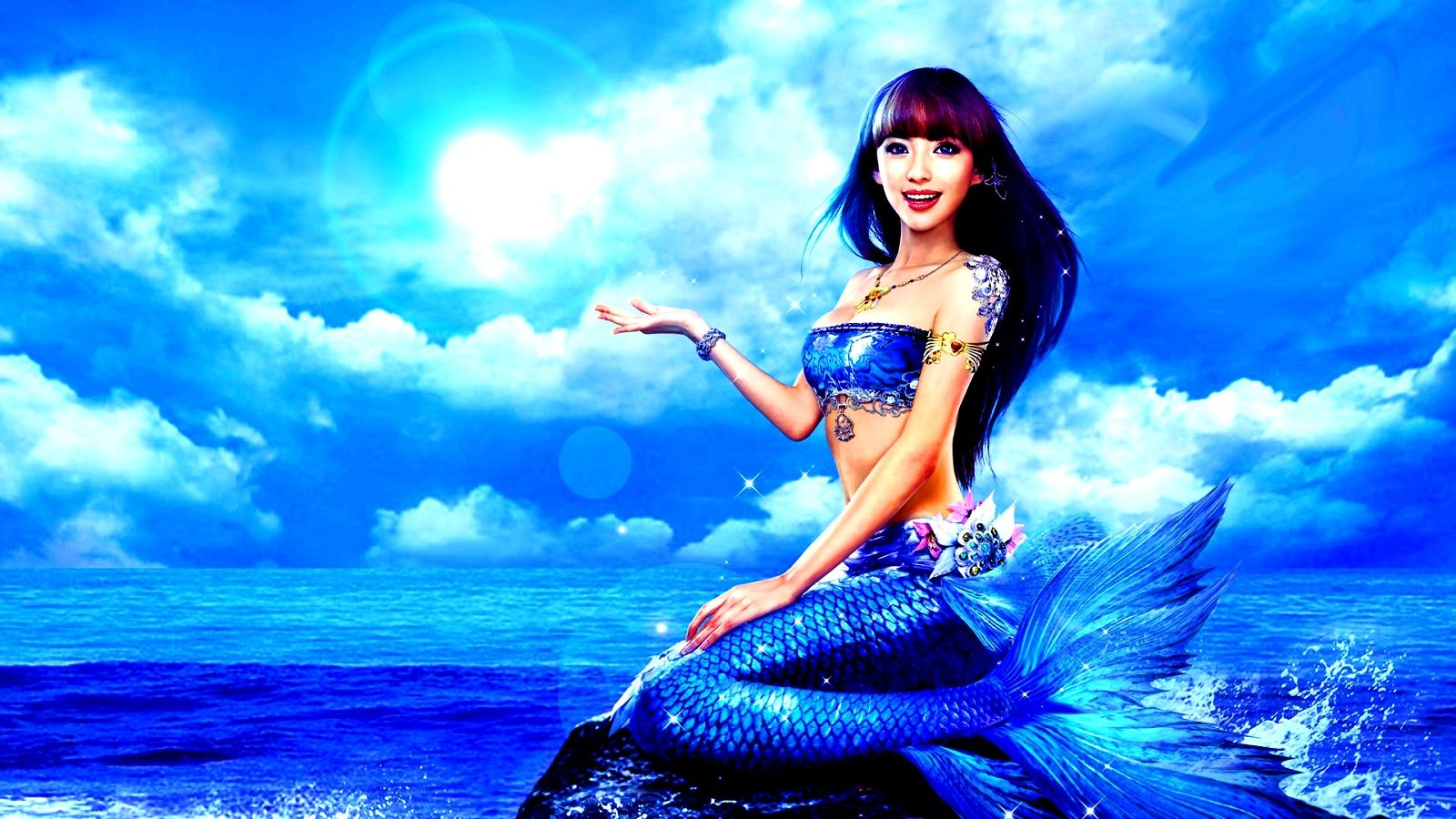 mermaids beautiful mermaids wallpaper wallcapturecom