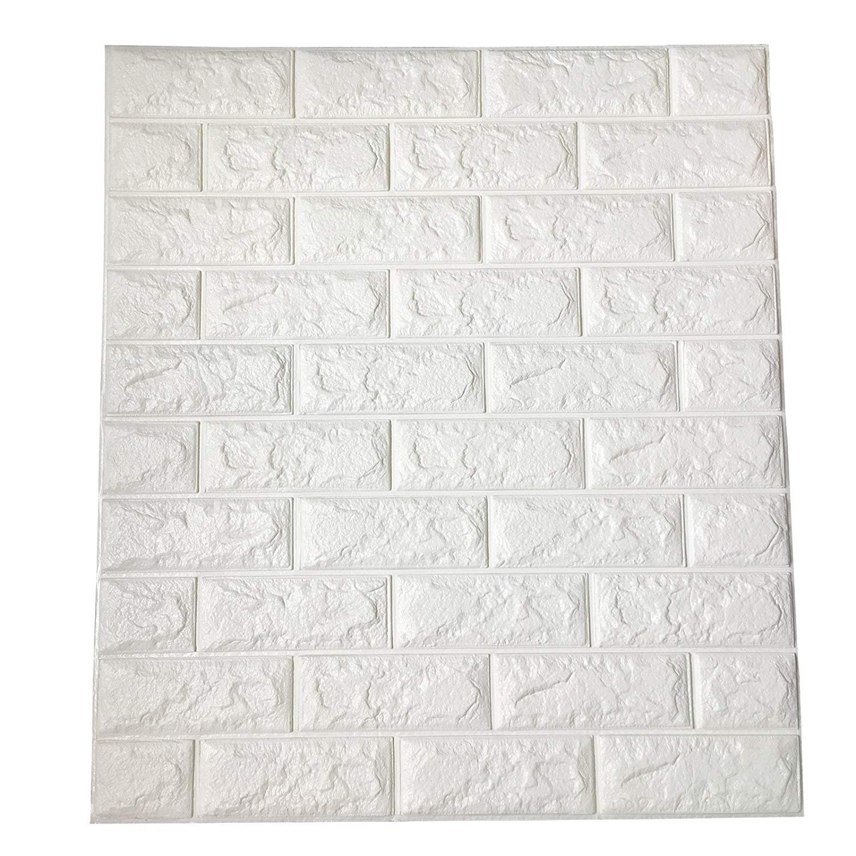 Peel and Stick 3D Wall Panels, PE Foam ...