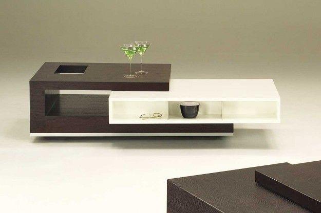 tavolino da salotto bianco e legno chic e moderno | Furnitures ...