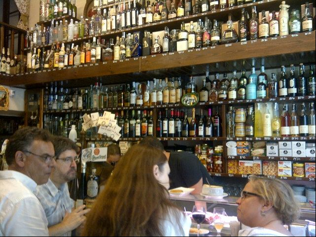 One of the best known tapas bars in Barcelona. Fantastic quality at reasonable prices.