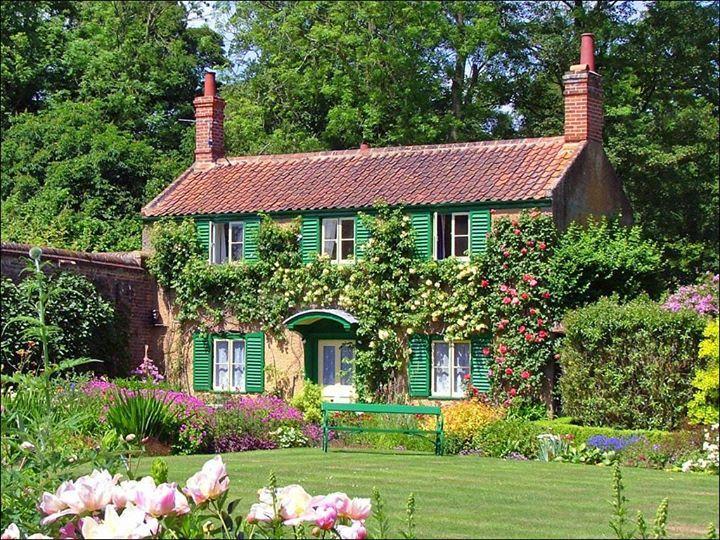 ein Traum Cottagegartendesign, Cottage garten