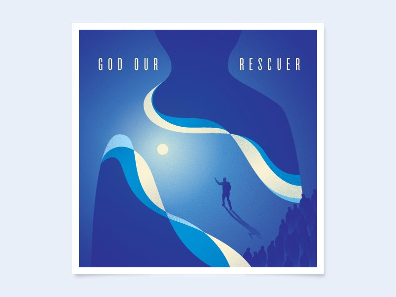 Unused God Our Rescuer album art by Tyler Anthony #Design Popular #Dribbble #shots