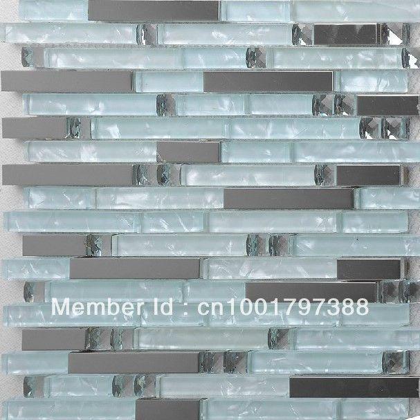 Aliexpress Com Buy Interlocking Glass Mosaic Tile