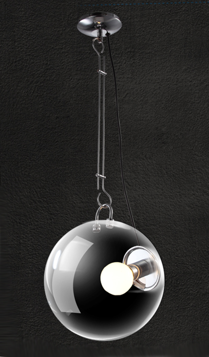 2017 New Creative Simple Modern Transpa Gl Ball Pendant Lamps View Lamp