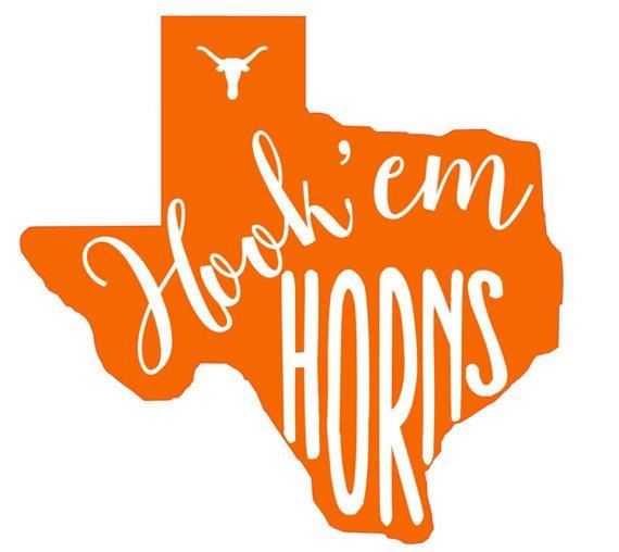 Texas Home Love Script State Proud Vinyl Decal Longhorn Pride Sticker Pray