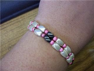 No clasp needed...magnetic beads