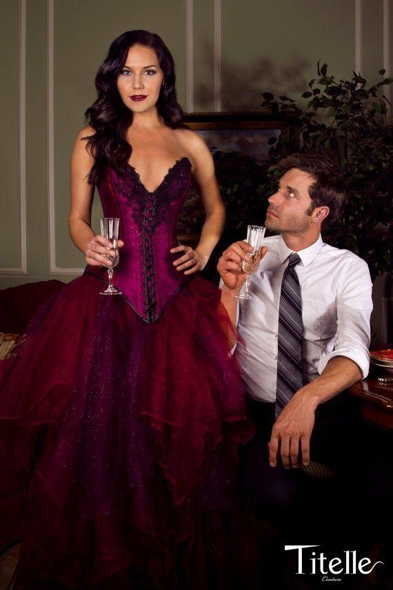 TITELLE wedding dress Sulfurous Ruby #wedding #dress www.loveitsomuch.com