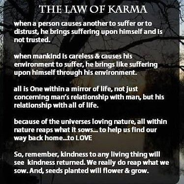 640 Likes 4 Comments Thoughtsnlife On Instagram Follow Thoughtsnlife Tag Your Friends Fa Karma Quotes Law Of Karma Home Quotes And Sayings
