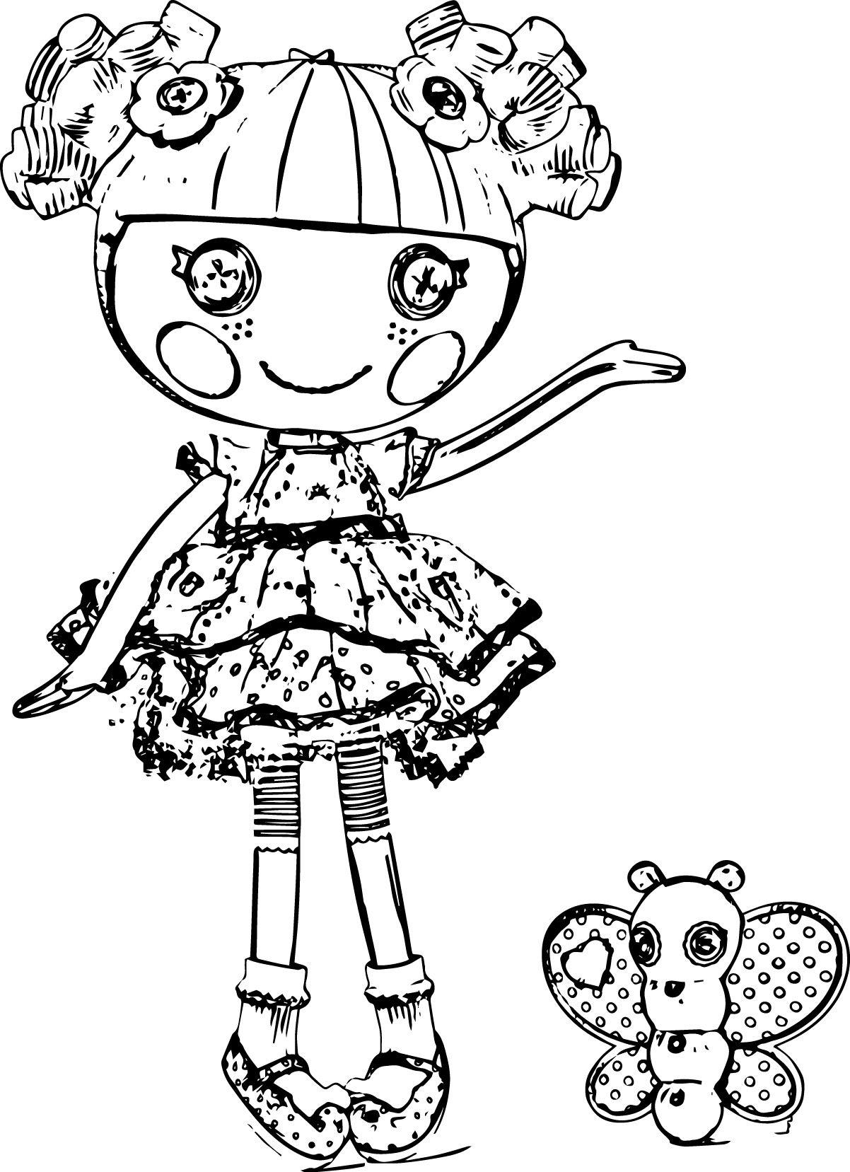 Lalaloopsy Cartoon Coloring Pages | Lalaloopsy