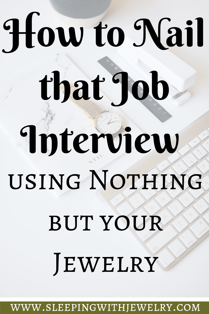 Nail That Job Interview With Your Jewelry Interview Job Interview Drop Earrings Outfit