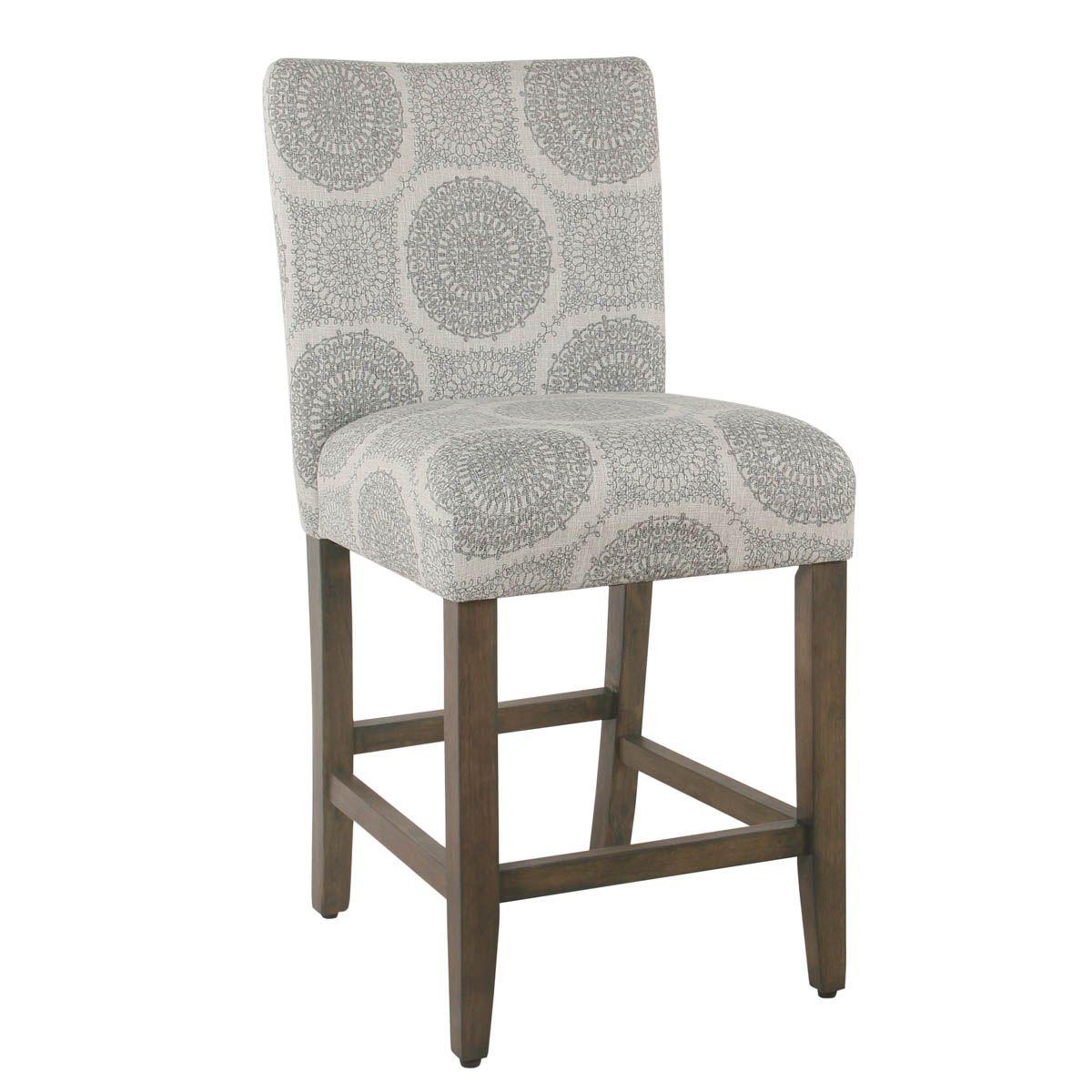 24 parsons counter stool gray medallion homepop kitchen rh pinterest com