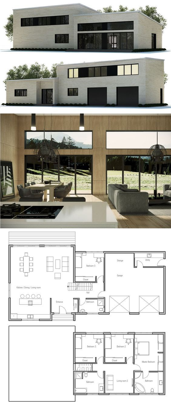 Architecture Drawing Plan House Layouts
