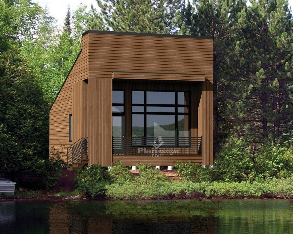 Charming W1906   Modern 631 Sq.ft. Tiny House Plan, 2 To 3 Bedrooms, 9u0027 Ceiling,  Ideal For Vegetable Garden Rooftop   Modern Tiny House, Tiny House Plans  And Tiny ...