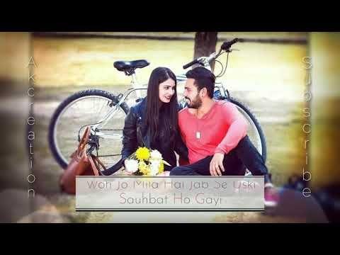 Uski Hame Aadat Hone Ki Aadat Ho Gayi I Am In Love Whatsapp Status Youtube Love Status Whatsapp Song Status New Whatsapp Video Download