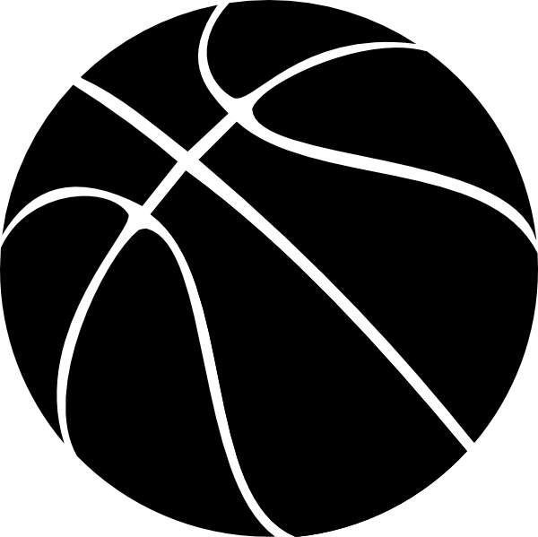 Black Basketball Jpeg 600 599 Free Basketball Basketball Theme Party Basketball