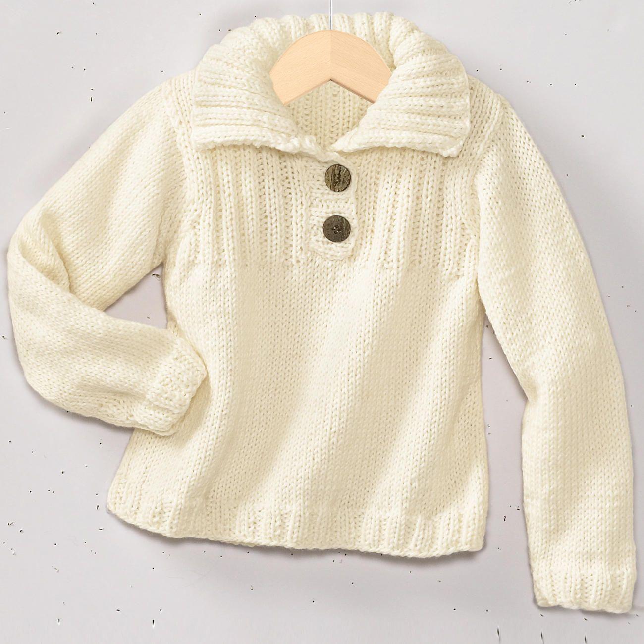 Modell 2182 Kinderpullover Aus Merino Classic Von Junghans Wolle