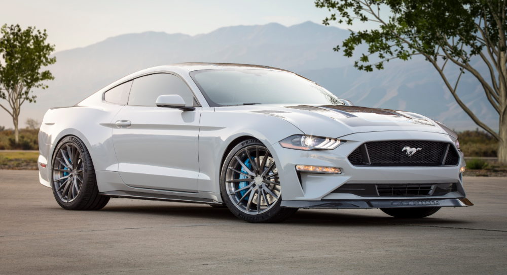 Ford's electric Mustang project car packs a manual transmission | Engadget