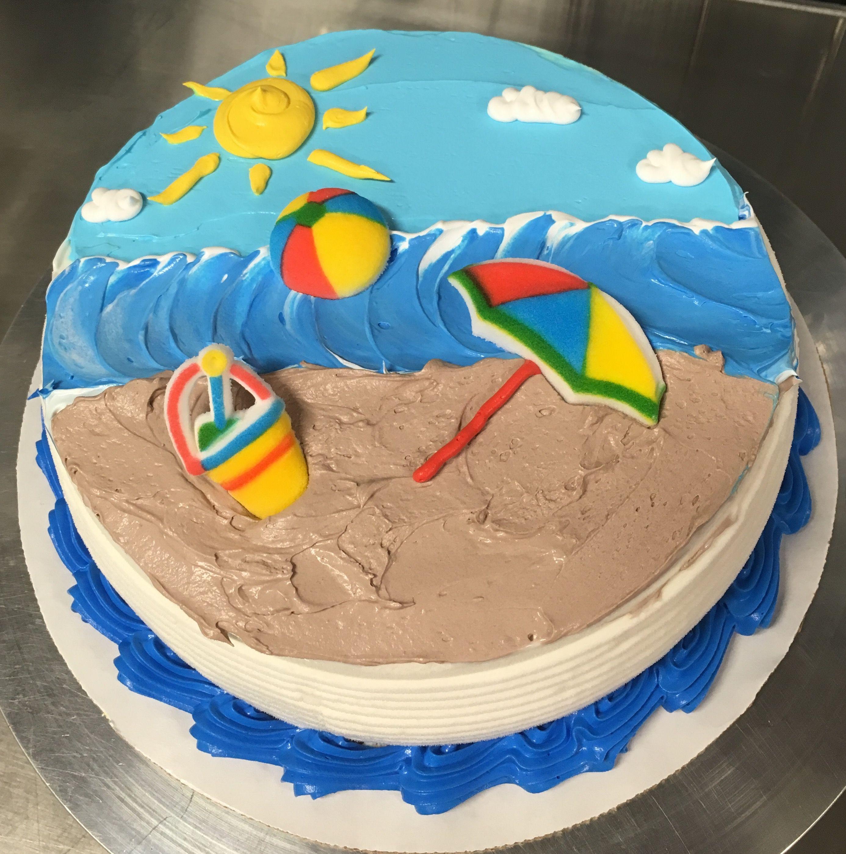 dq ice cream cake design Beach DQ ice cream cake  Sahnekuchen, Diy eistorte, Geburtstagskuchen