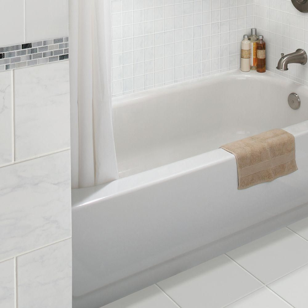 Bathroom Wall Tile With Diamond Deco At Home Depot