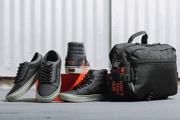 9ea03f20d992 From the Shadows  The Darkside Initiative x Vans Vault ComfyCush LX Pack