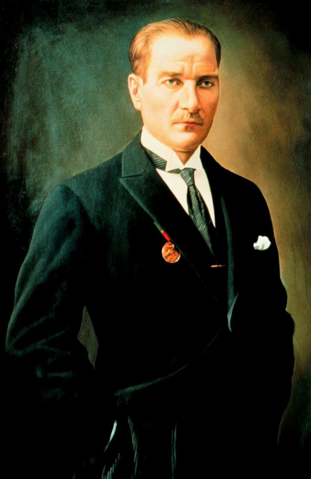 Mustafa Kemal Ataturk Portre Resimleri Ataturk Un Buyuk Boy Fotograflari Renkli Ataturk Portre Resimleri Forumgazel Den Ataturk Fotograf Portre Fotograf Resim