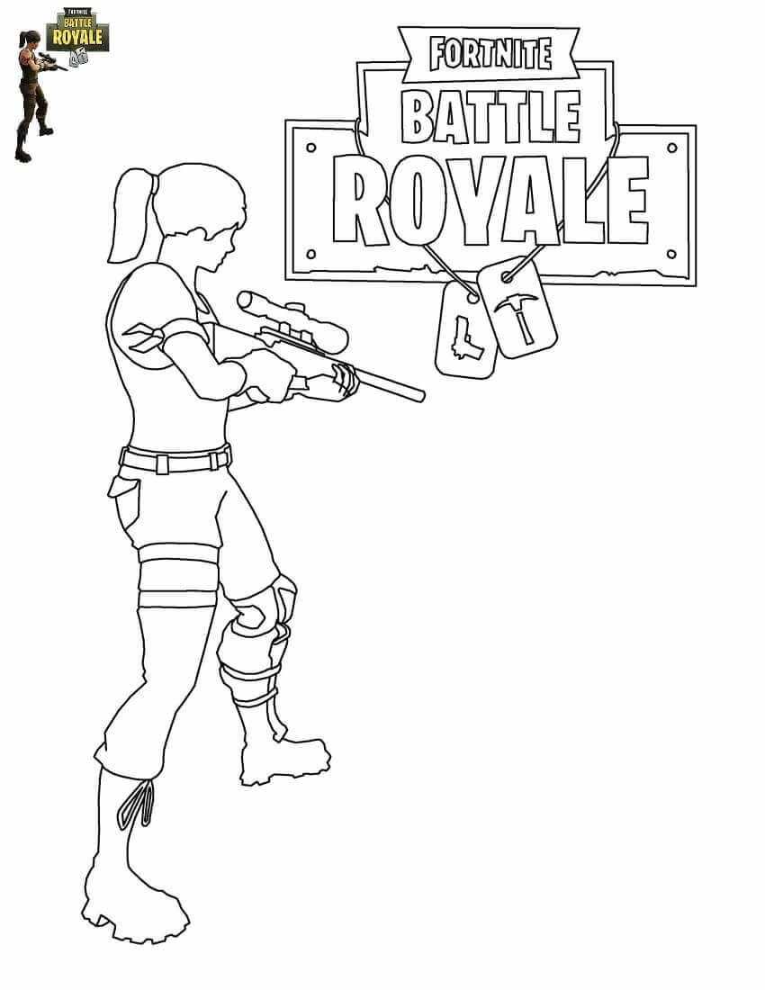 Draw It Too Coloring Pages Fortnite Wallpaperall