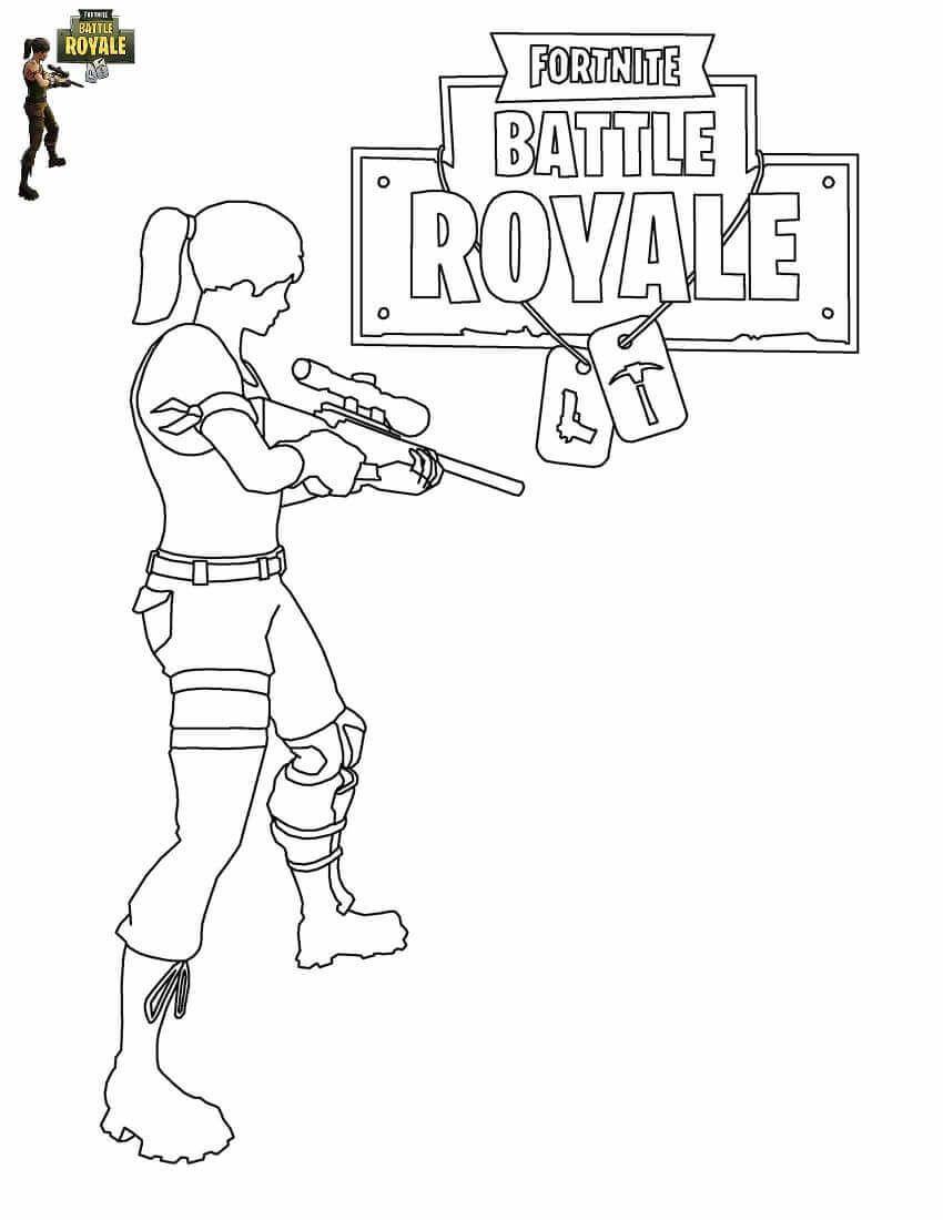 Master grenadier fortnite coloring sheets