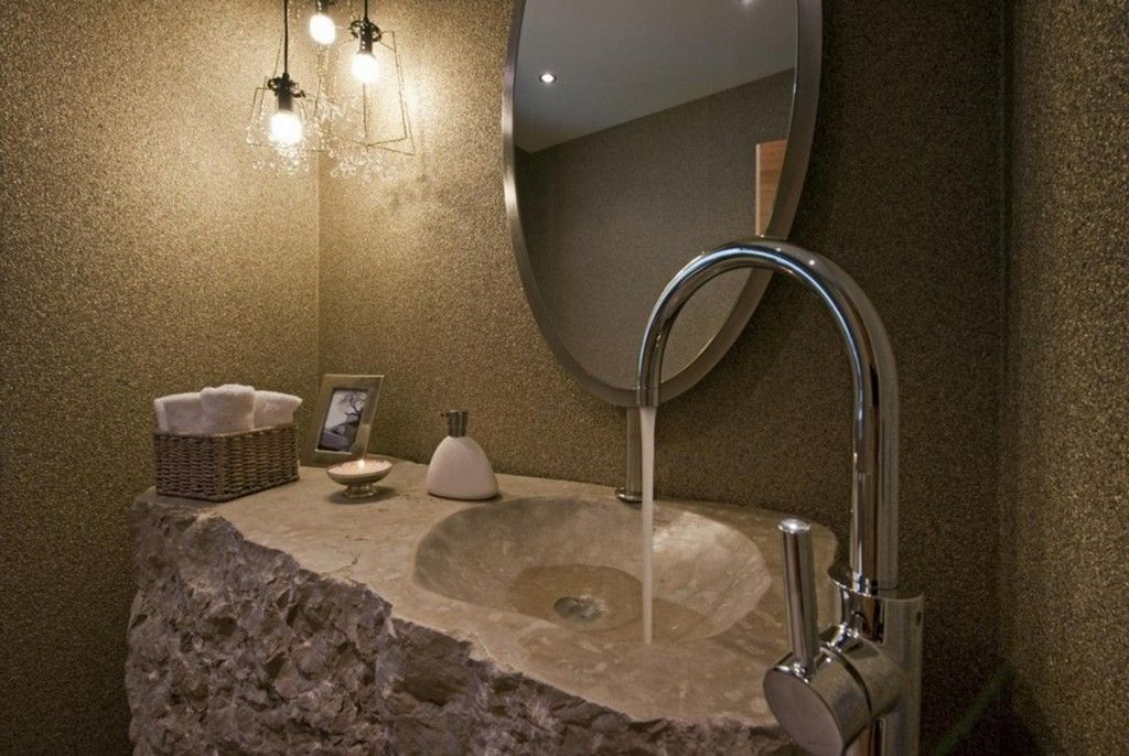 Dazzling Modern Stone Bathroom Sinks Magnificent Modern Stone Luxury.