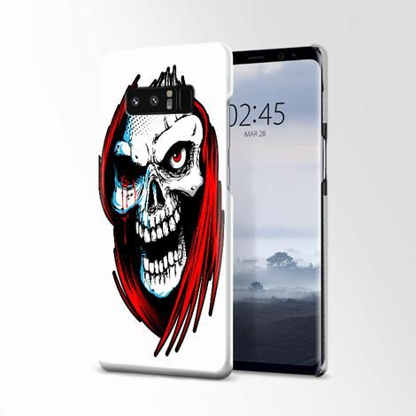 Grim Reaper Skull Cool Hollow Samsung Galaxy Note 8 Case | Casacases