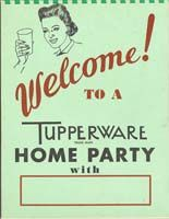 tupperware party RETRO Pinterest