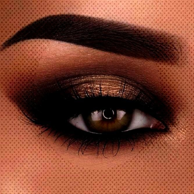 rock makeup for brown eyes (makeup ideas amp tutorials) - hairstyle 2019 - Like rock makeup for brow