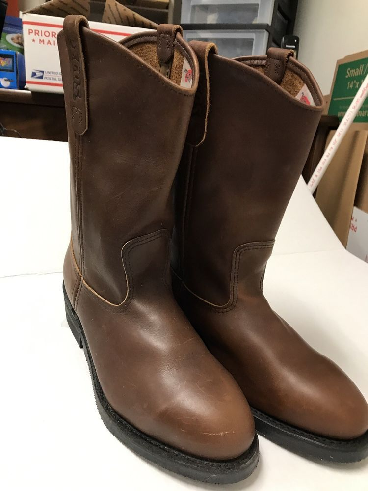 Red Wing Pull on Style 2413 Steel Toe